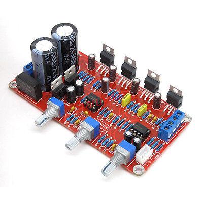2.1 TDA2030A+NE5532 18Wx2+36W Stereo Pre-amplifier Amp Board Kit Magic Sound 12v