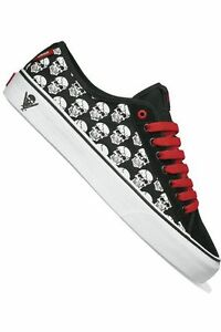 Vans-Shoes-Men-Ferris-Skulls-VN-098NX8P-Black-Chill-Size-10-5-44-New