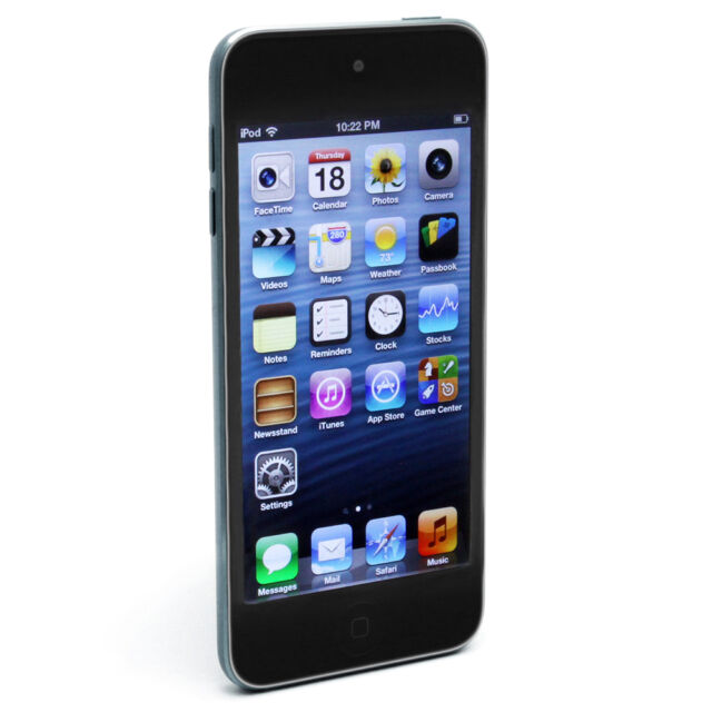 APPLE iPod Touch - 32 GB, 5th Generation - Black - Retina display, Facetime -New