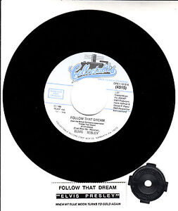 ELVIS-PRESLEY-Follow-That-Dream-When-My-Blue-Moon-Turns-To-Gold-Again-45-NEW