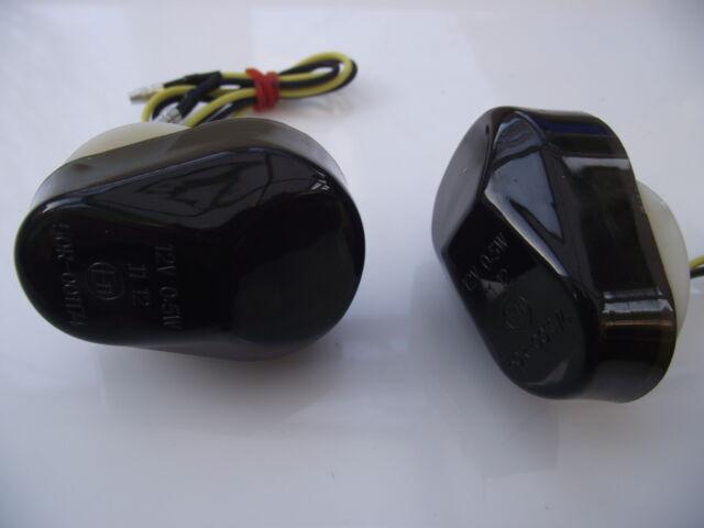 Kawasaki ZX9R (2002-2003), Smoked lens LED fairing mount indicators