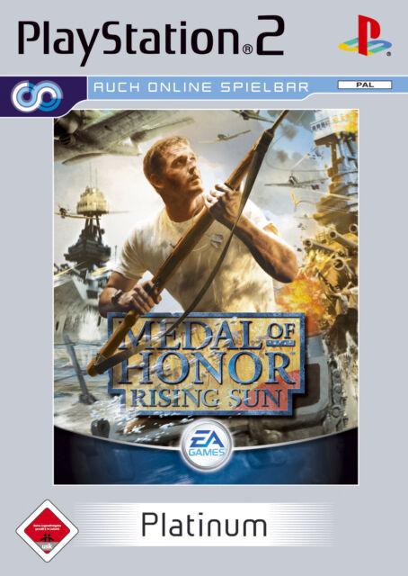 Medal of Honor Rising Sun mit Anleitung (PS2) - DVD fast wie Neu *USK 18