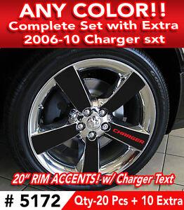 30pc Set 2006 10 Dodge Charger Sxt Clad Wheel 20 Quot Rim