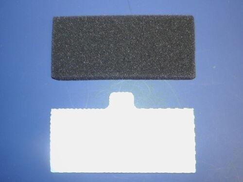 "Respironics Remstar Pro Plus 6 Ultra Fine 2 Foam Pollen Filters 1-1/2"" X 3-5/8"""
