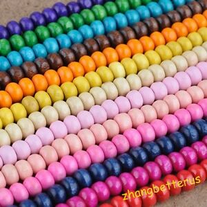 800-Pcs-Nice-Wood-Spacer-loose-beads-charms-findings-Accessories-jewelry-5-mm