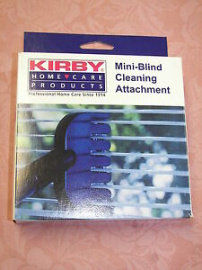 Kirby Mini Blind Cleaning Attachment Ebay