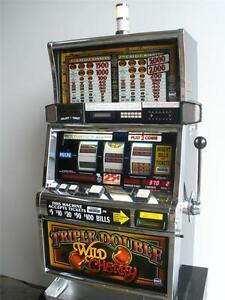 igt triple double wild cherry s2000 slot machine ebay. Black Bedroom Furniture Sets. Home Design Ideas