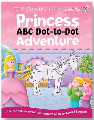 Dot to Dot Activity Book - Princesses, Sally Hopgood, Very Good Book