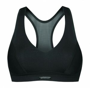 SHOCK-ABSORBER-Active-Black-Sports-Bra-Removable-Boost-Pads-32-38-A-to-D