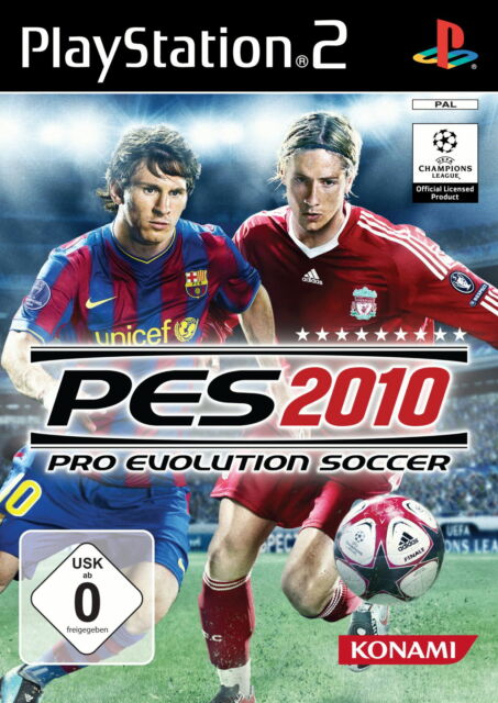 Pro Evolution Soccer 2010 (Sony PlayStation 2, 2009, DVD-Box)
