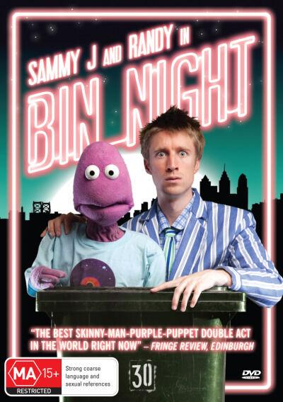 Sammy J And Randy In Bin Night (DVD, 2013)--FREE POSTAGE