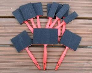 12PC Foam Paint Brush Brushes 1034 2034 3034 4034 Craft Hobby Great For Varnish amp Crafts - <span itemprop=availableAtOrFrom>mail order only, United Kingdom</span> - All our items can be returned if found to be faulty within 30 days or not as described. 7 days full refund upon receiving the original item back, please contact us if you have a p - mail order only, United Kingdom