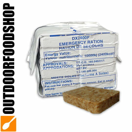 Notration mit Kokosgeschmack - Datrex DX2400F Emergency Food Ration 2400kCal