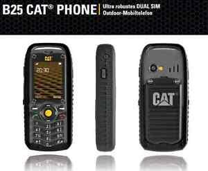 huawei caterpillar cat b25 dual sim 2 sim karten outdoor baustellen handy neu ebay. Black Bedroom Furniture Sets. Home Design Ideas