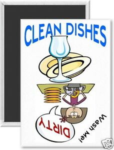 Clean-Dirty-Dishwasher-Magnet-Sign-Wash-Me-Collectible-Kitchen-Gadget-dm03R