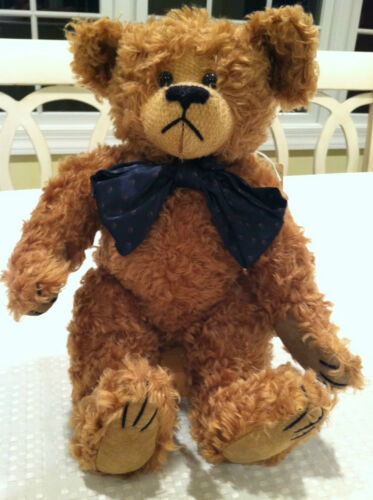 """BRAND NEW in box with tags! BOYD""""S COLLECTION MOHAIR BEAR numbered with COA"""
