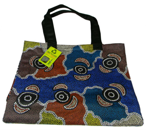 1 Australian Souvenir Australia Indigenous Aboriginal Art Design Shopping Bag