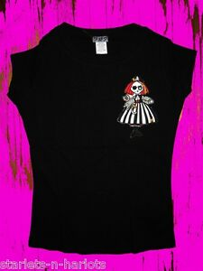 POCKET-FULL-OF-POSIEZ-PIRATE-ZOMBIE-DOLL-LONG-FITTED-TEE-T-SHIRT-S-M-XL-2XL-3XL