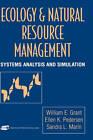Natural Resource Management and Applied Ecology by William E. Grant, etc., Sandra L. Marin, Ellen K. Pedersen (Hardback, 1997)