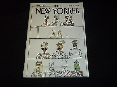 2004 MARCH 8 NEW YORKER MAGAZINE - BEAUTIFUL FRONT COVER - C 3557