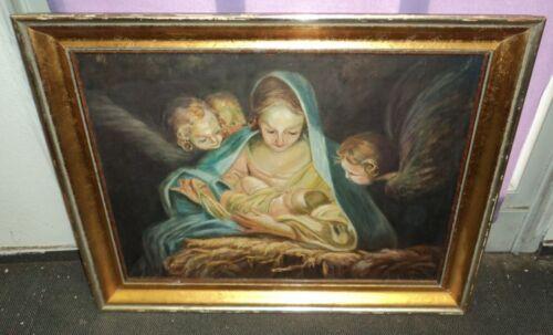 altes Heiligenbild Klostermalerei