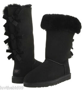 UGG-AUSTRALIA-3388-AUTHENTIC-BLACK-BAILEY-BOW-TALL-BOOT-ALL-WOMENS-SIZES