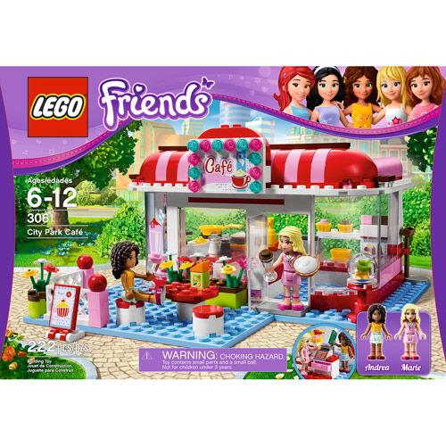 Lego Friends City Park Cafe 3061 Ebay