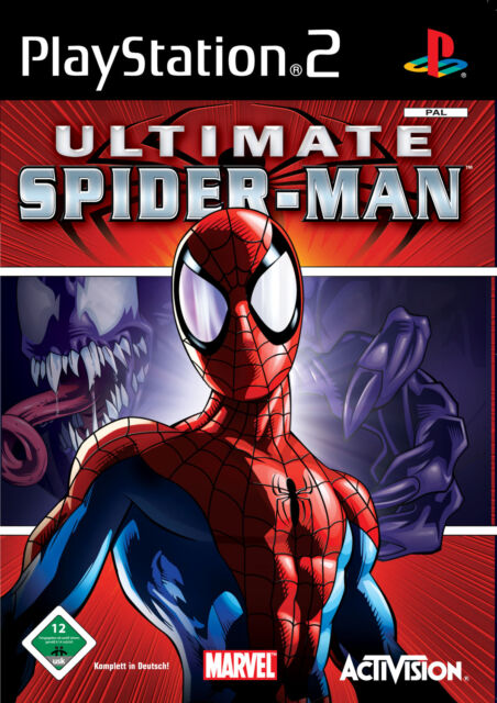 Ultimate Spider-Man (Sony PlayStation 2, 2005, DVD-Box)
