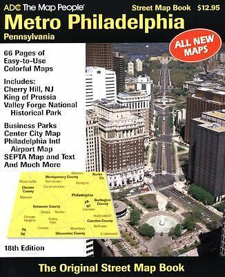 Philadelphia Subway Map From Chrrry Hill Nj.Metro Philadelphia Pa Street Atlas By The Map People Staff Adc 2004 Other