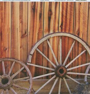 034-Wagon-Wheel-034-12x12-Photo-Paper-by-McRice