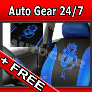 Image Is Loading Blue Dragon Car 13pc Mats Pads Steering Amp