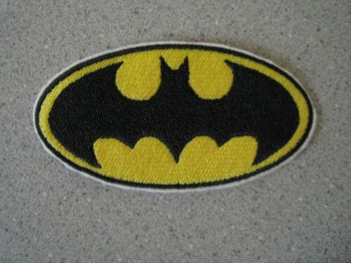 BATMAN SUPERMAN EMBROIDERED PATCH APPLIQUE