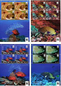 Aitutaki-WWF-Fish-Issue-Sheetlets