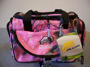 NEW-PLANO-GAME-DAY-SOFTSIDER-4460-TACKLE-BAG-PINK-CAMO-bead-craft-womens-girl