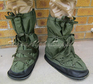 Uk British Army Surplus Issue Mukluk Snow Over Boots Small