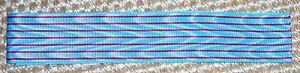 FRENCH-Croix-de-Combattant-Medal-Ribbon-WW-1-x-6-034-Inc-UK-p-amp-p