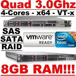 HP-ProLiant-DL360-G5-Quad-Core-Xeon-3-0Ghz-8GB-RAM-1U-VMware-ESXi-RAID-Server