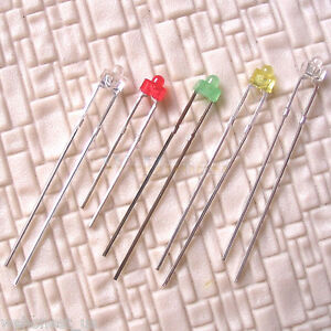 250-pcs-1-8mm-Light-Emitting-Diode-Assorted-5-Colors-LEDs-Mixed-Colours