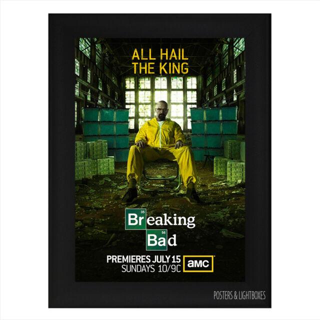 BREAKING BAD Framed Film Movie Poster A4 Black Frame
