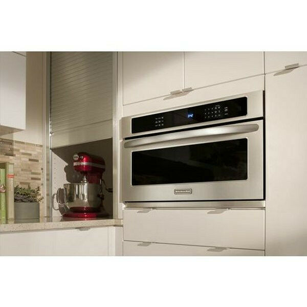 """KitchenAid KBHS109BSS 30"""" Stainless Steel Built-In Microwave Oven Brand"""