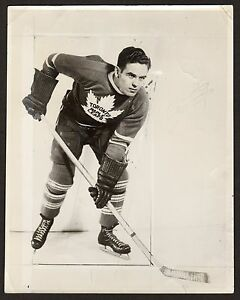 1936 BILL THOMS Maple Leafs HOCKEY CARD PHOTO