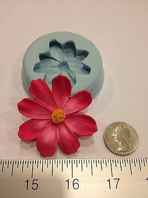 DAISY FLOWER SILICONE MOLD #32 CHOCOLATE, FONDANT, GUMPASTE, SUGARCRAFT, FAVORS