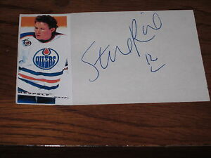 STEVEN-RICE-AUTOGRAPHED-OILERS-3X5-PHOTO-INDEX-CARD