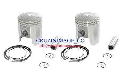 Suzuki GT250 X7 54mm Standard Pistons Set Two Pistons include CI-GT250PS