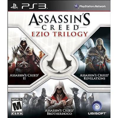 ASSASSINS CREED: EZIO TRILOGY (PS 3, 2012) (7927)   ****FREE SHIPPING USA****