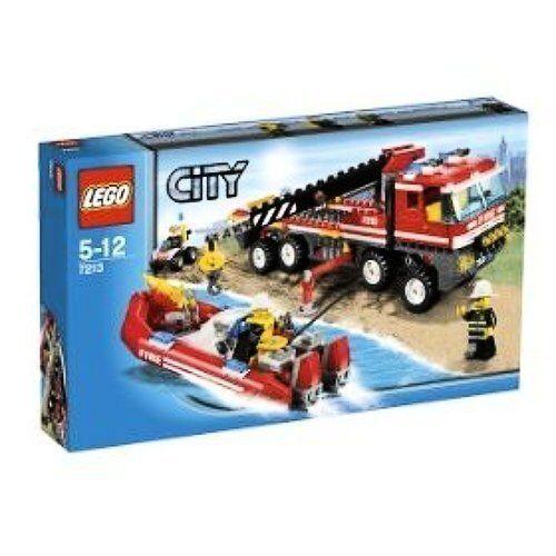 Lego City Off Road Fire Truck Fireboat 7213 Ebay