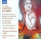 Leon de Saint-Lubin - Léon de Saint-Lubin: Virtuoso Works for Violin, Vol. 1 (2009)