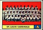 1961 Topps Cardinals Team #347 Baseball Card