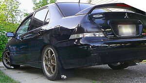 mitsubishi lancer ralliart oz rally mud flaps by rokblokz 2004 2005 2006. Black Bedroom Furniture Sets. Home Design Ideas