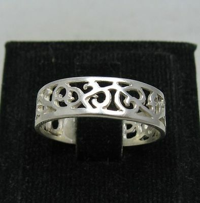 STERLING SILVER RING BAND SOLID 925 SIZE 3.5 - 13 NEW R001139